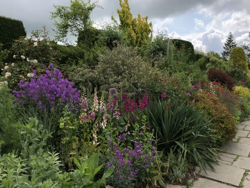 The Long Border at Great Dixter by Jack McCoy